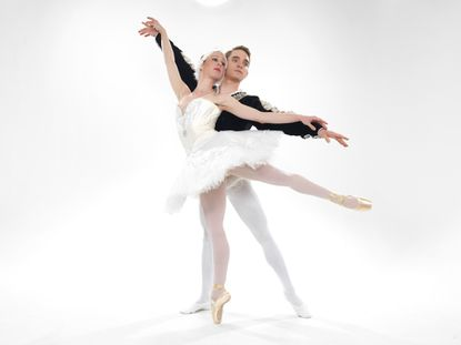 """The Ballet Theatre of Maryland's production of """"Swan Lake,"""" with Nicole Kelsch and Calder Taylor, will be performed this month at the Maryland Hall for the Creative Arts."""