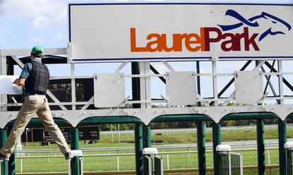 City of Laurel Stakes, Salute to Troops Nov. 9 at Laurel Park