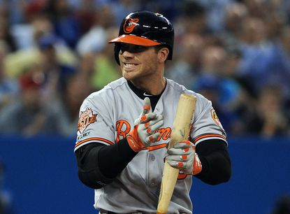 After four-strikeout night, Orioles slugger Chris Davis tries to stay upbeat
