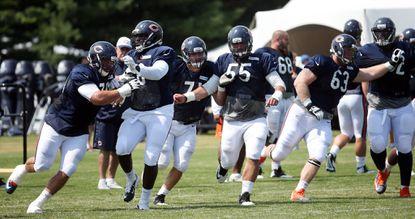 Intensity heats up in Bears' final training-camp practice