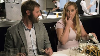 "Rory Scovel and Amy Schumer in the movie ""I Feel Pretty,"" which was recently released by STX Entertainment."