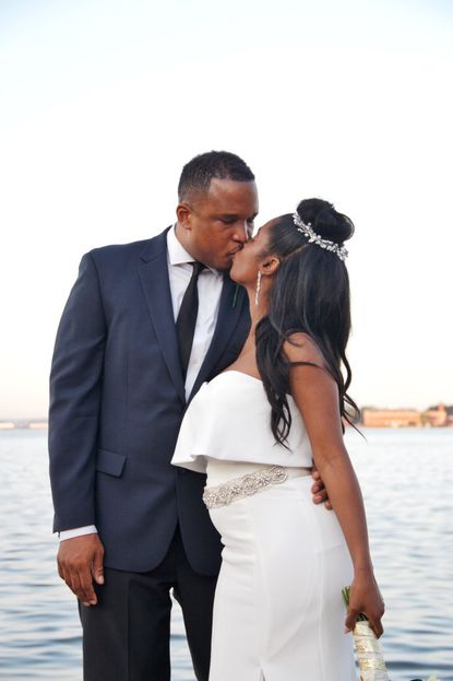 Baltimore author D. Watkins marries lawyer Caron Brace in morning ceremony in Canton