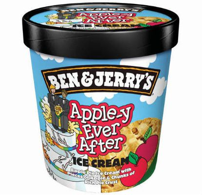 Ice cream flavor for gay marriage