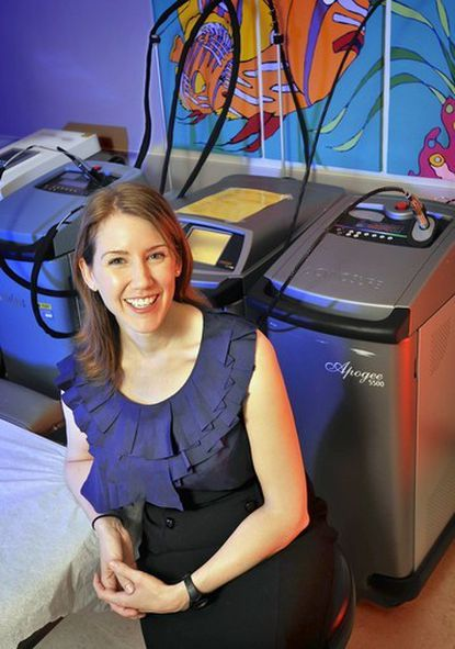 Dr. Kate Puttgen, is an assistant professor at Johns Hopkins University in the Departments of Dermatology and Pediatrics.