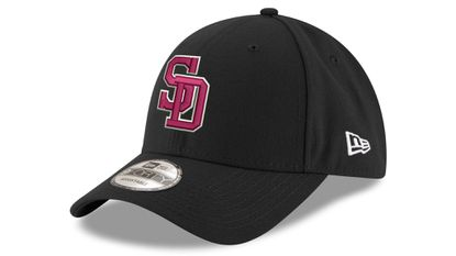 Marjory Stoneman Douglas High School baseball hats to be worn by the Orioles Friday.