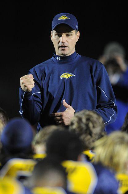 River Hill head coach Brian Van Deusen is coaching Team Maryland in the Big 33 Football Classic.