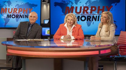 The timing could hardly be better for the return of 'Murphy Brown' to prime time