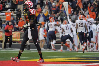 Maryland receiver Amba Etta-Tawo started in place of junior Marcus Leak against Wisconsin and will likely see time Saturday at Penn State.