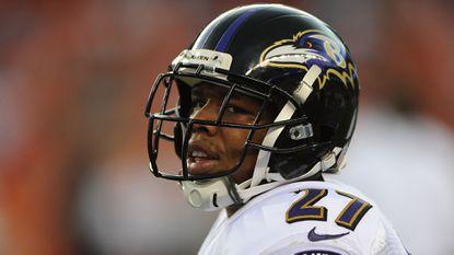 Former Ravens running back Ray Rice.