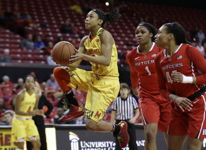 Terps women enter Big Ten quarterfinal against Michigan State with strength in reserve