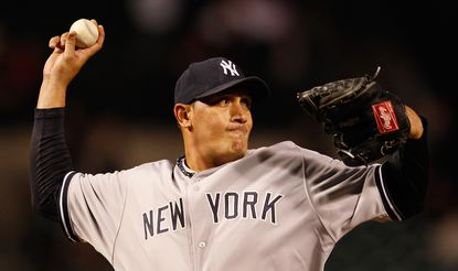 Freddy Garcia had some success pitching out of the bullpen last season with the Yankees.