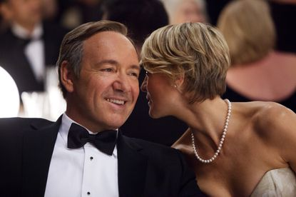 Kevin Spacey and Robin Wright star in 'House of Cards' on Netflix, one of the midseason's highlights. The entire first season available to subscribers Feb. 1 in new business model for TV.