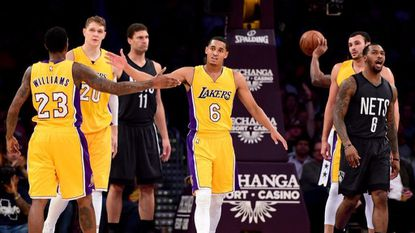 Do the Lakers have the NBA's best bench lineup in the early going?