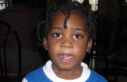 Damaud Martin at age 3.