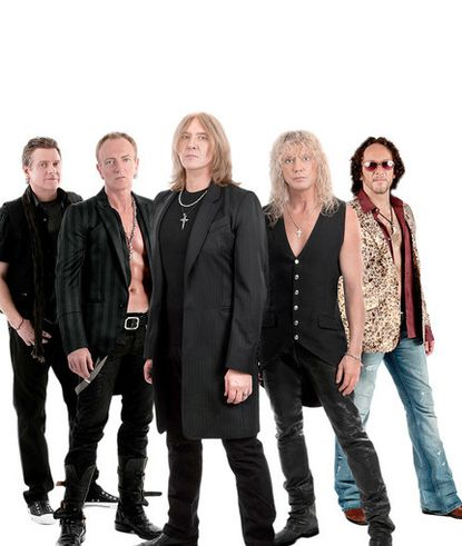 Def Leppard performs at Jiffy Lube Live.