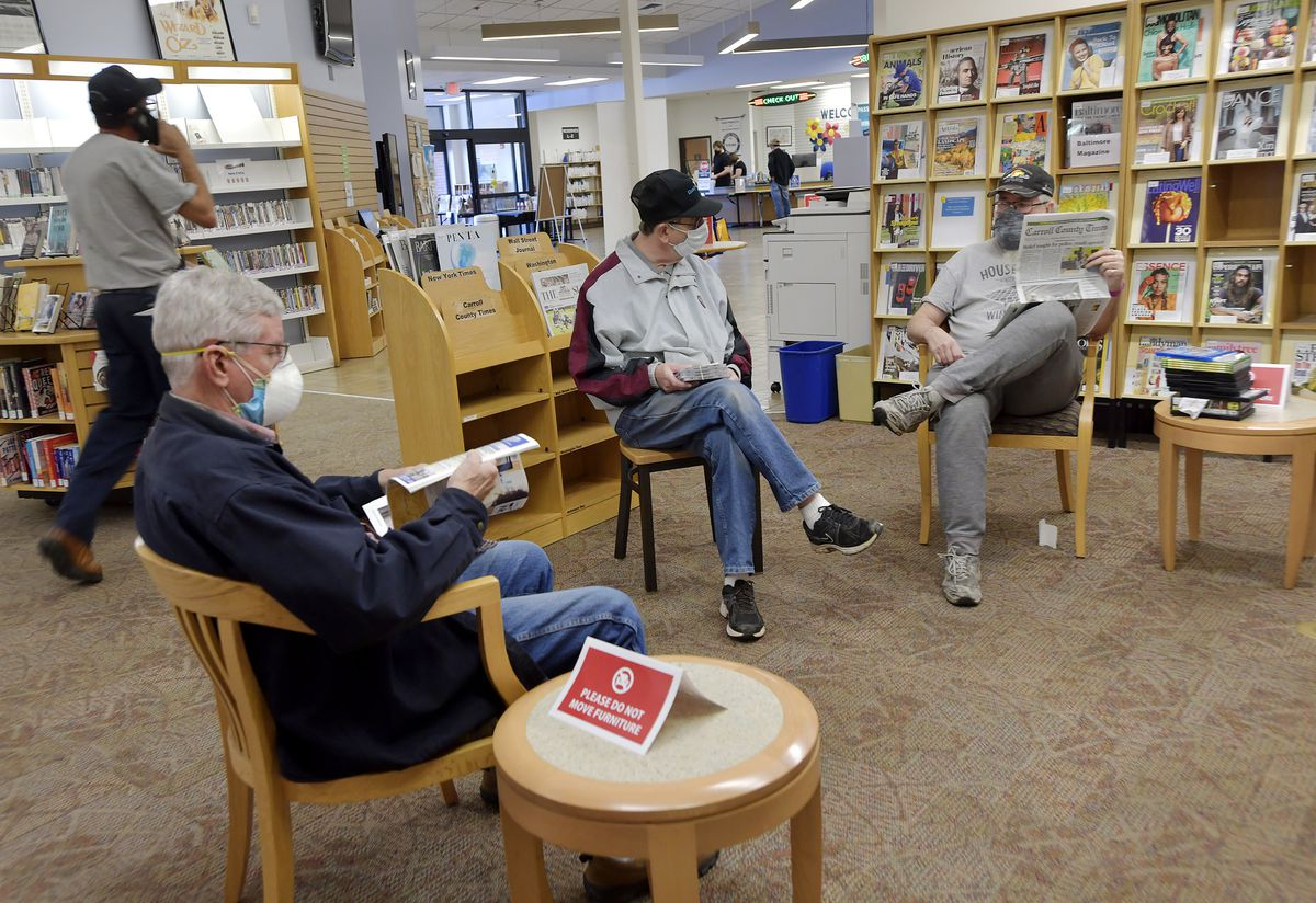 Carroll County Public Library branches to reopen March 8