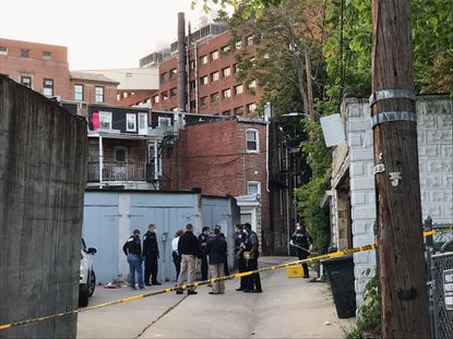 Baltimore Police said an 84-year-old man killed one of his relatives before shooting himself early Wednesday night. Photo by Justin Fenton / Baltimore Sun