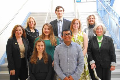 Six Harford high school seniors serve as legislative pages in Annapolis