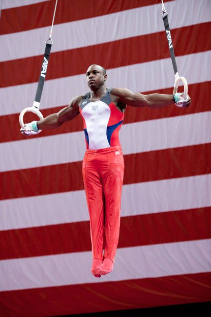 Donnell Whittenburg of Baltimore finished second in the all-around at the Winter Cup Challenge on Saturday.