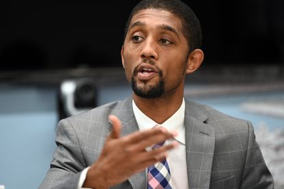 Baltimore City Council President Brandon Scott has proposed a 26-point proposal for addressing Baltimore's crime, corruption, disaffected youth and legacy of inequity.