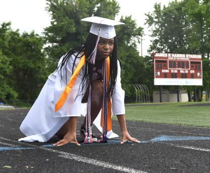 Havre de Grace High School Class of 2020 graduate Chioma Iheacho plans to attend U.M.B.C. to study Biochemistry and Molecular Biology. During her years at Havre de Grace High School she played clarinet in the band as well as playing on the soccer team and running track.