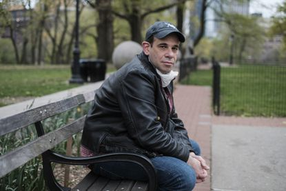 Seth Flicker, who lost his work as a handyman and has been stymied in filing for unemployment benefits, in Brooklyn, April 29, 2020. With over 30 million filing unemployment claims in six weeks, millions of others may still be shut out as states grapple with new guidelines and sheer volume.