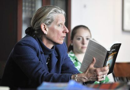 Pam Regis, a national expert on romance literature teaches a course at McDaniel College. The college has a new minor in writing romance fiction.