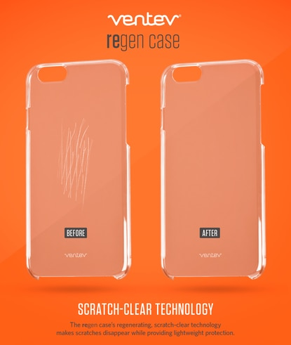 A Baltimore County company's iPhone cases built with self-healing technology to repair scratches are among the wares on display this week at the International Consumer Electronics Show in Las Vegas.