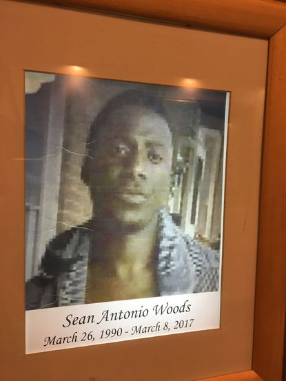 Sean Wood, 26 , was shot and killed during a robbery on the Charm City Circulator.