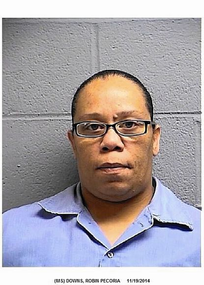 """Robin Pecoria Downs entered a plea for opening a fraudulent credit card account and charging items at a Westminster department store. Full story: <a href=""""http://bit.ly/1MZEqnS"""" target=""""newwin"""">http://bit.ly/1MZEqnS</a>"""