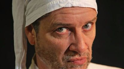"Steven Shriner was set to portray Scrooge in the Collaborative Theatre/Fells Point Corner Theatre production of ""A Christmas Carol"" before it was cancelled Thursday."