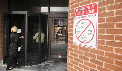 Cell phone ban lifted at Harford County Circuit Court