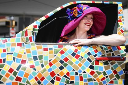 The annual Art Cars parade and display at last year's Artscape festival.