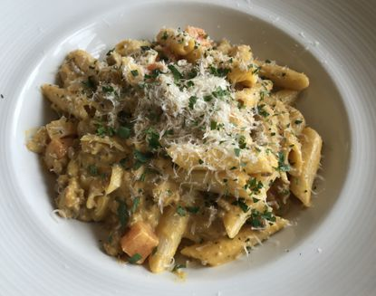 Pumpkin Bolognese at the Turn House in Columbia