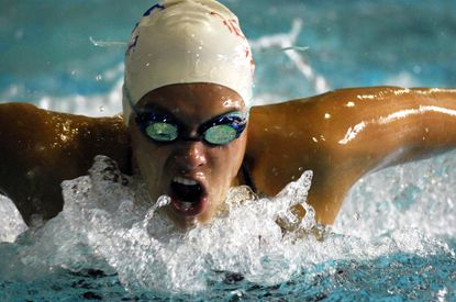 Courtney Kalisz, then 17, won a silver medal in the 200 butterfly at the Pan American Games in 2007.