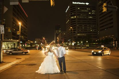 Jennifer Meunier and Adam Backes were married at the Center Club in the Transamerica Towers in downtown Baltimore.