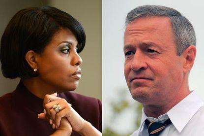 Mayor Stephanie Rawlings-Blake and Gov. Martin O'Malley.
