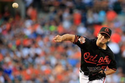 Miguel Gonzalez posted his second straight eight-inning outing Friday.