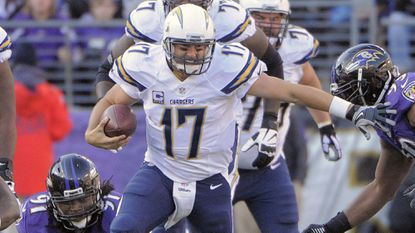 San Diego Chargers quarterback Philip Rivers.