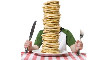 Friday: 25th Annual Pancake Eating Contest