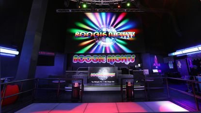 Boogie Nights in the Tropicana Hotel hosts LGBTQ-friendly events such as gay balls and tea dances.