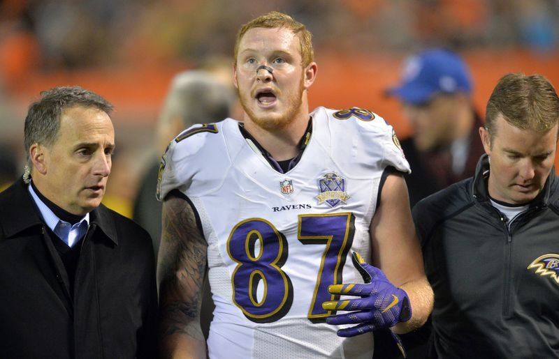 Ravens tight end Maxx Williams remains out of practice with ...