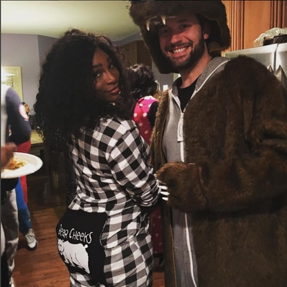 Serena Williams and Columbia native Alexis Ohanian in a photo Williams posted to Instagram four weeks ago. The coupleannounced their engagement on Thursday via social media.
