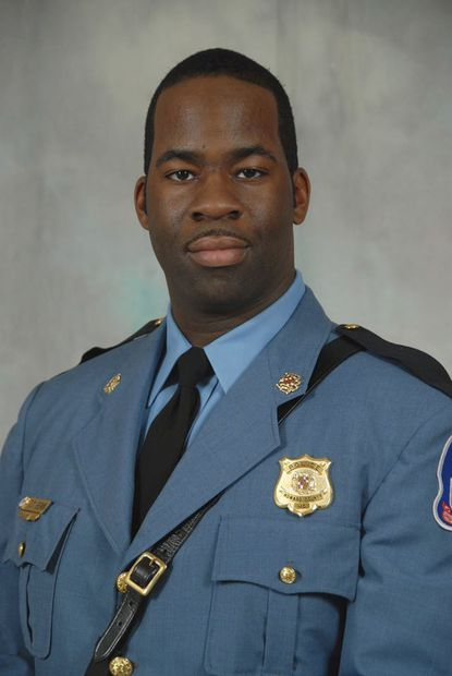 Howard County Police Department Cpl. Terrence Benn.