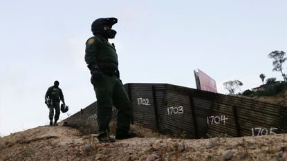Arrests at Mexican border fall to 17-year low. Is it the Trump effect?