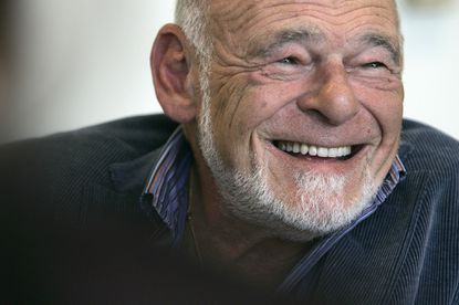 Equity Group Investments chairman and successful Tribune Company bidder Sam Zell during an interview in Los Angeles.