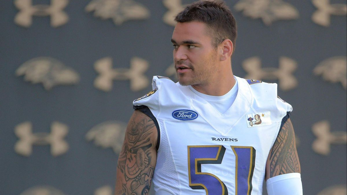 Father's Day: For Ravens' Kamalei Correa, first half-year of ...