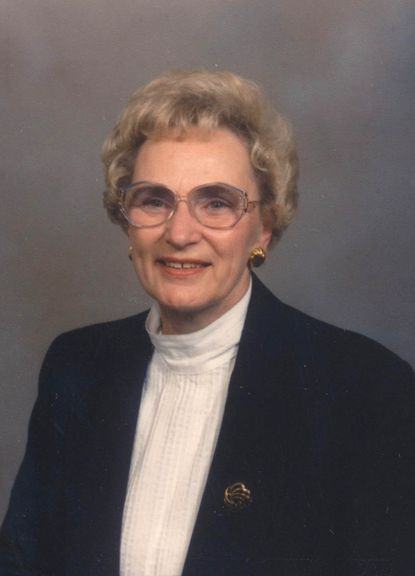 Emma Fout worked for more than 40 years at Mercantile Safe Deposit and Trust Co.