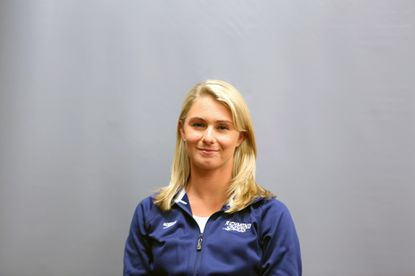 Towson resident Jessie Krebs is the new coach of the Meadowbrook Tomatoes swim team.