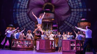 """A scene from the stage musical """"An American in Paris."""""""